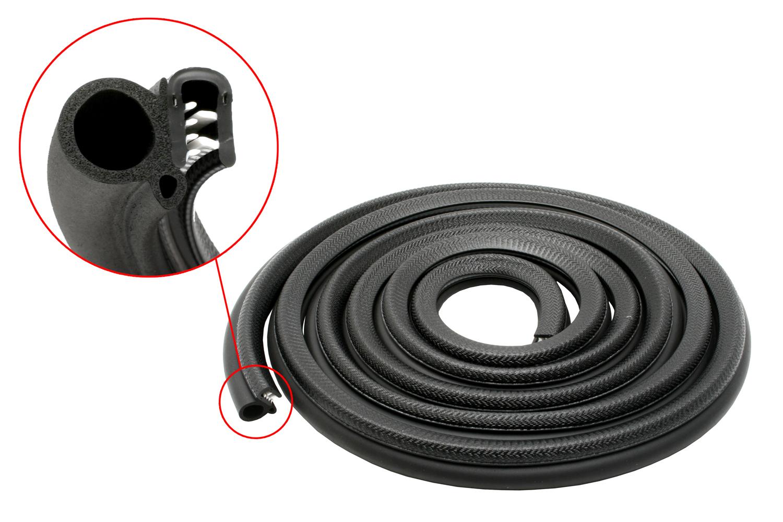 Ford bailey door belt weather seal strip front kit xr xt for Door rubber seal