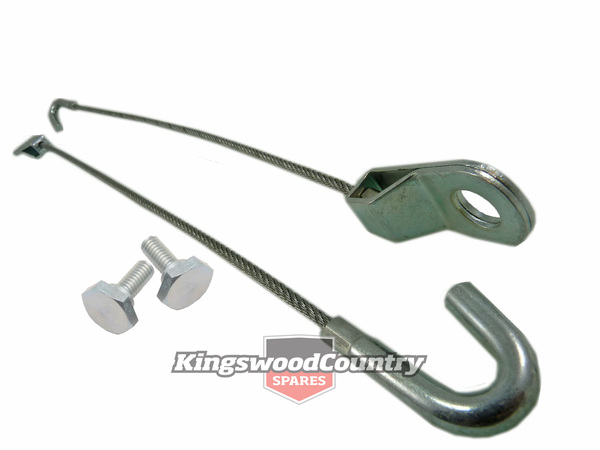 Holden Hq Ute Van Tailgate Limiting Cables Straps New