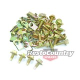 Ford Panel Bolt Kit F100 F150 F250. Guard Fender Speed Nut