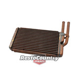 Holden Commodore Heater Core VB VC VH Copper without indentations NEW 6cyl V8