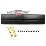 Holden Commodore Taillight Extension VK VL Group A Plain Black boot centre rear