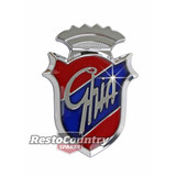 Ford 'GHIA' Guard & Boot Emblem Badge Large 55mm XD XE XF