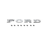 Ford Badge - F O R D - Letters +Clips Bonnet / Tailgate XA XB ZF ZG