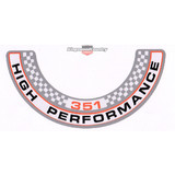 Ford XW GT - 351 High Performance - Engine Air Cleaner decal NEW