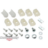 Holden Clips Door Belt Moulding Kit FRONT Sedan Monaro HK HT HG HQ HJ HX. 1door
