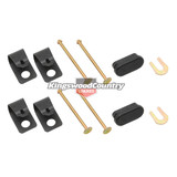 Holden Drum Brake Shoe Hold Down Pin Spring Clips Set of 4 HK HT HG HQ HJ HX HZ WB