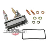 Ford Door Handle +Gasket +Fitting Kit LEFT Front Outer XB XC ZG ZH