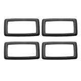 Ford Interior Door Handle BLACK Surround x4 XA XB ZF ZG˜ inner