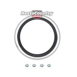 Ford Fuel / Petrol Cap Surround XW XY GT With Fitting Nuts Genuine Restoration Part