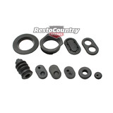 Holden EJ EH Firewall Rubber Grommet Kit 13pcs plug seal engine wall