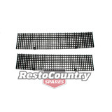 Holden Commodore Bonnet Grille Kit VH VK x2 Air Vent Intake