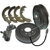 Holden HQ HJ HX HZ WB Rear Brake Drum +Shoes +Cyl +Hose