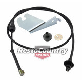 Holden V8 Accelerator Cable +Bracket Fitting Kit HJ HX HZ WB Torana LH LX