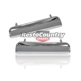 Holden Outer Door Handle CHROME x2 HQ HJ HX HZ WB Torana LH LX UC