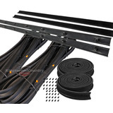 Holden Bailey Door Belt Weather Seal Strip STATESMAN REAR Kit HQ HJ HX HZ rubber