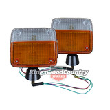 Toyota Landcruiser 40 45 series front indicator PAIR