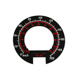 Holden Speedo Metric Conversion Decal HT HG