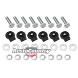 Holden Radiator Mounting Fitting Kit bolts 6cyl HK HT HG bolts