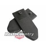 Seat Belt Top Cover w/Hook BLACK Ford XK-XY-XC Holden FX-HK-HG HQ-HX HZ WB LC-UC