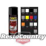 VHT High Temperature Spray Paint FLAMEPROOF FLAT BLACK. Exhaust engine flame proof