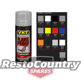 VHT High Temperature Spray Paint FLAMEPROOF SATIN CLEAR Exhaust engine flame proof