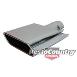 Ford Exhaust Tip Single x1 XA XB GT 302 351 Falcon FPV