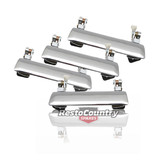 Holden Outer Door Handle FRONT +REAR LEFT +RIGHT Chrome Torana LC LJ x4