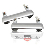Holden Torana Front Outer Door Handle CHROME Left and Right LC LJ x2