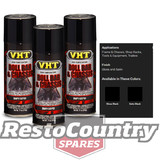 VHT High Temperature Spray Paint ROLL BAR + CHASSIS GLOSS BLACK x3 rollbar