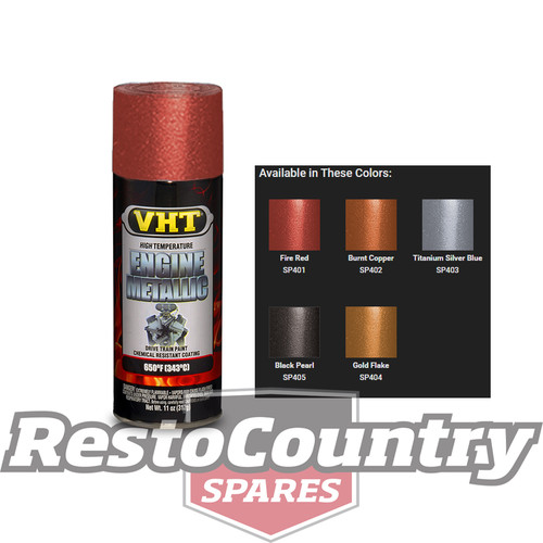 Vht High Temperature Spray Paint Engine Metallic Fire Red Starter Diff Vht Spray Paint