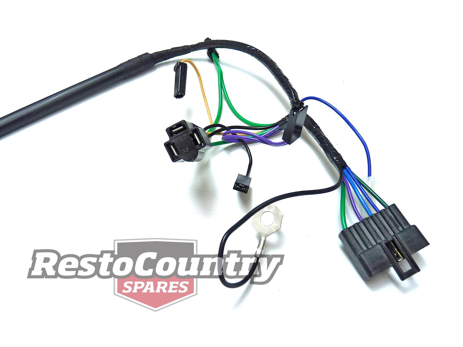 Holden Torana Lx Headlight Wiring Loom Harness H4 Wire Light Globe