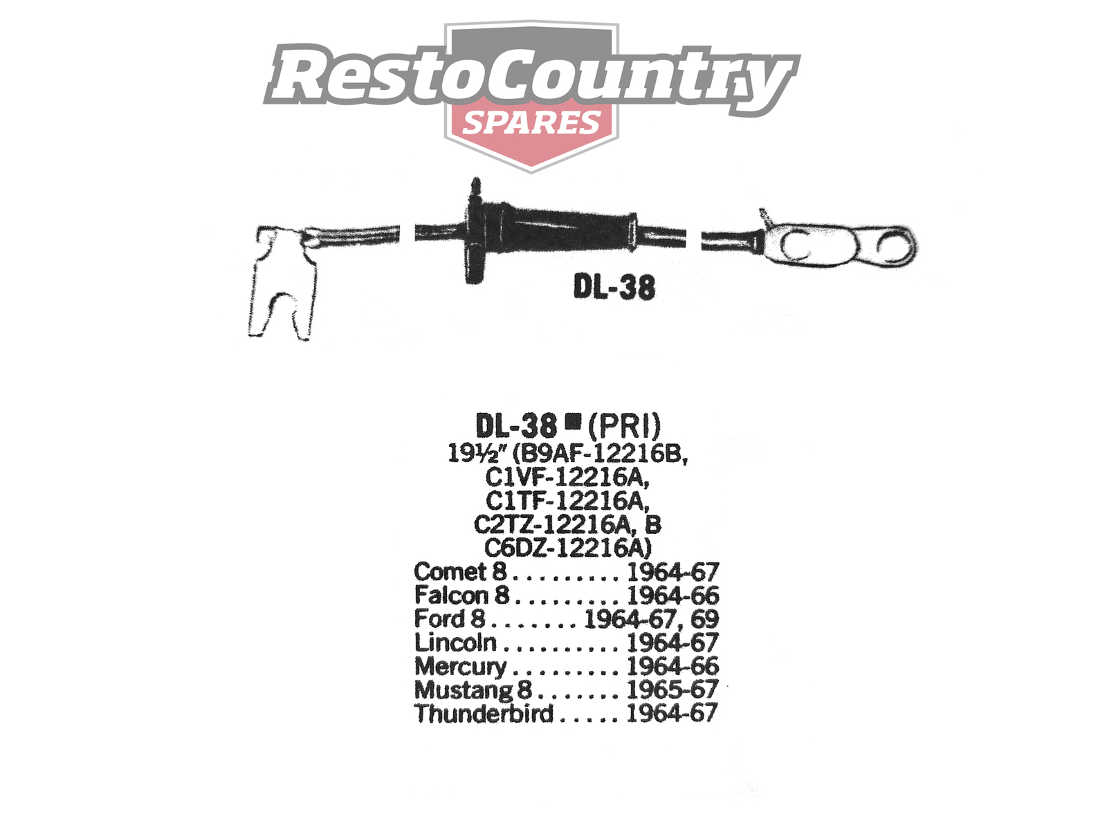 1942 Ford Distributor Wiring Trusted Diagrams For 66 Bronco Primary Lead Ignition Wire Dl 38 V8 Mercury 1979 Alternator Diagram