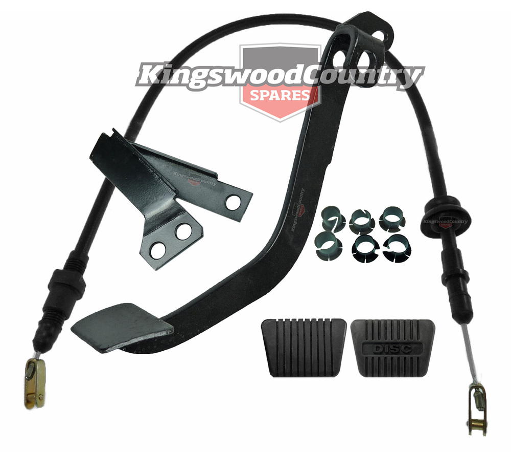Holden Clutch Pedal Cable Conversion Pull Kit Hq Hj