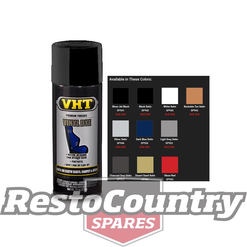 Vht Vinyl Spray Paint Vinyl Dye Jet Black Seat Plastic