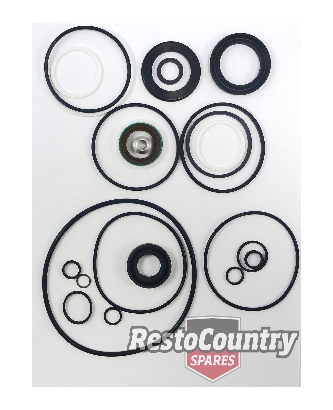 Holden Power Steering Box Pump Rebuild Seal Kit Hq Hj Hx