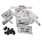 Holden HZ WB Side Body Mould Moulding Clip + Socket set x20pcs strip trim
