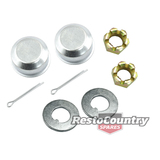 Holden Wheel Bearing Hub Nut +Cap +Washer Kit HK HT HG HQ HJ HX HZ WB VB VC VH