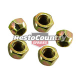 Holden Wheel Stud Nuts FE-EH HK HT HG HQ HJ HX HZ WB LC LJ LH LX Disc Drum