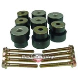 Holden Sedan Wagon Coupe Body Mount Rubber Bush + Bolts Kit HQ HJ HX HZ WB chassis