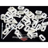 Holden Exterior Chrome Moulding Trim Clips x40 +Rivet HK HT HG HQ HJ HX HZ WB