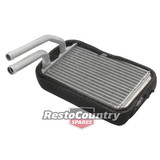 Holden Torana Heater Core with 3/4 and 5/8 pipes LH LX NEW. radiator tank