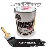 KBS RustSeal SATIN BLACK 500ml Rust Seal Paint Rust Preventive Coating