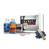 KBS Coating System Small Sampler Kit Chassis GLOSS BLACK Rust Preventative Paint