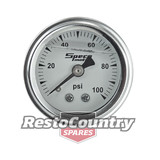 "Speco 1 1/2"" 0-100psi Fuel Pressure Gauge Liquid Filled - Mechanical 1/8"" NPT"