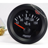 Speco 2 inch Electric Oil Temp Gauge 50-150C Black NEW instrument
