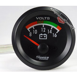 Speco 2 8 - 16 volt gauge Black NEW