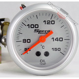 Speco 2 Mechanical Oil Temp Gauge 50-150C NEW