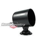 Speco 2 5/8 Black Plastic Gauge Pod + Mounting Kit holder cup dial