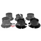 Holden Ford Brake + Clutch Pedal Nylon Bushes Shim Kit x6 bush