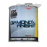 KBS Coatings Diamond Finish Clear Coat 4 Litre Car Boat Bike Paint Protect four